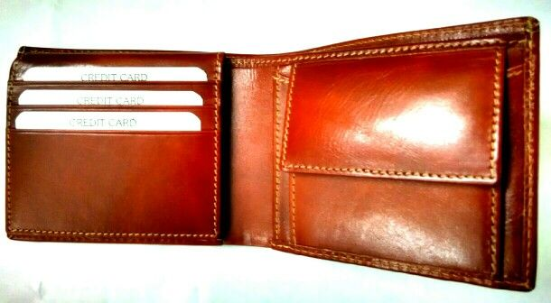 Real leather Mens wallets