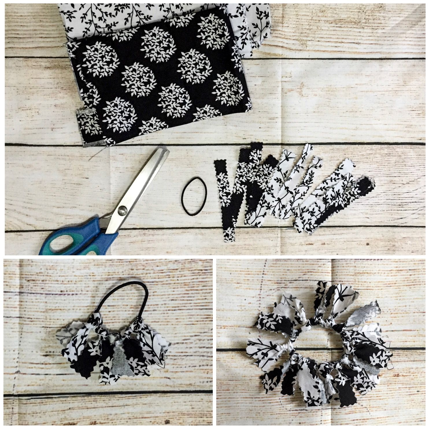 Diy hair accessories that are quick and easy and no sewing required