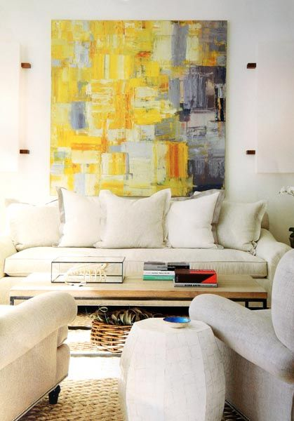 Selecting Abstract Art for Modern Interiors - Modern Art | ART IN ...
