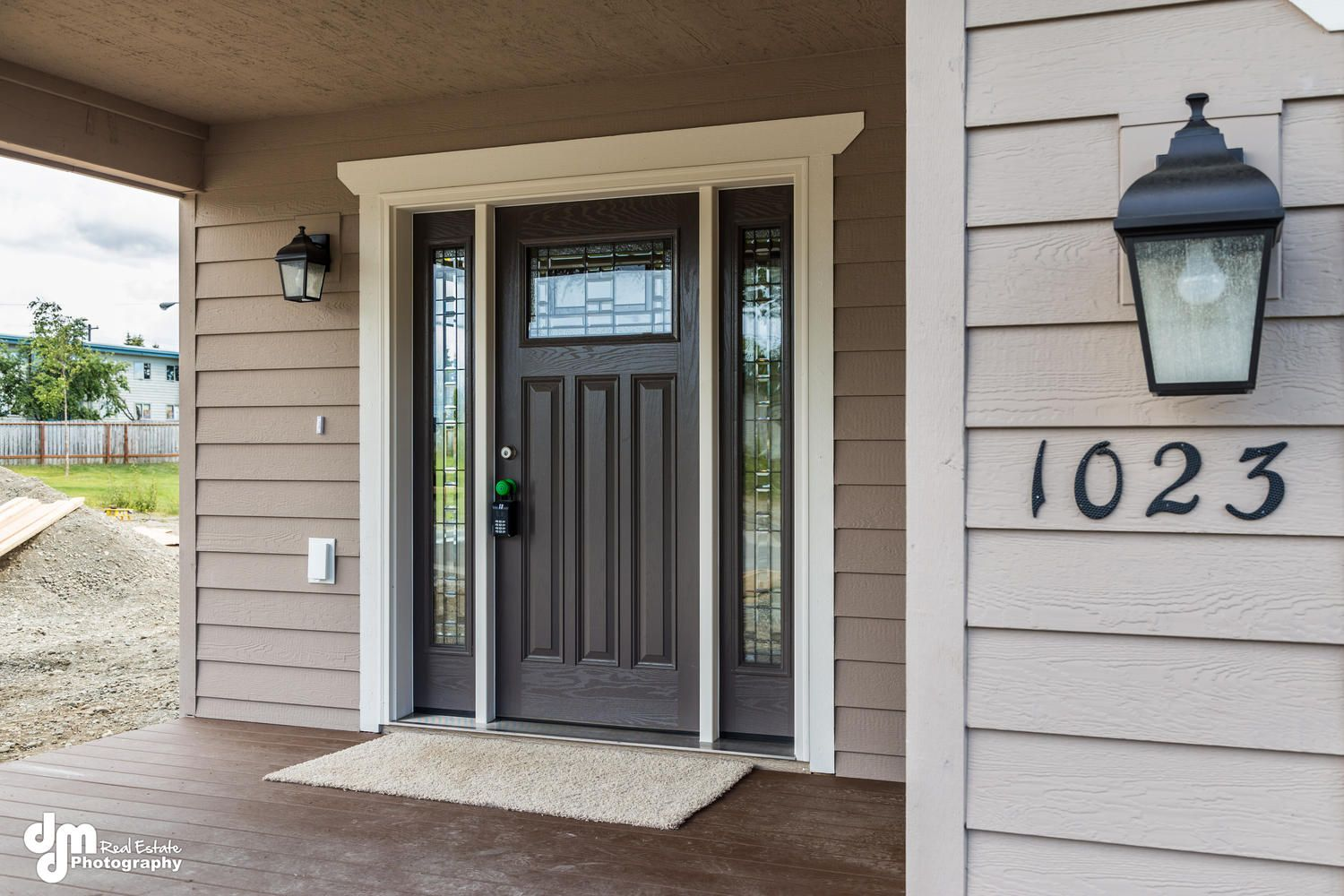 Craftsman Style Front Door With Full Sidelights Exterior Doors With Sidelights Craftsman Front Doors Craftsman Style Front Doors
