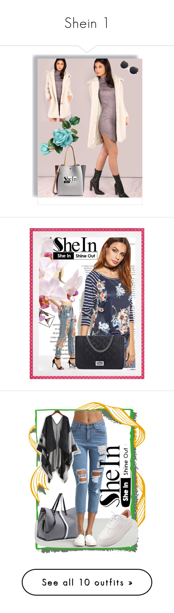 """""""Shein 1"""" by begicdamir ❤ liked on Polyvore"""