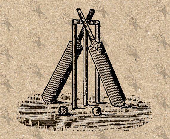 Cricket Sport Clip Art - Royalty Free - GoGraph