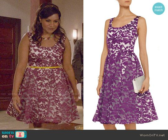 Embroidered Organza Dress Dresses White Floral Dress The Mindy Project