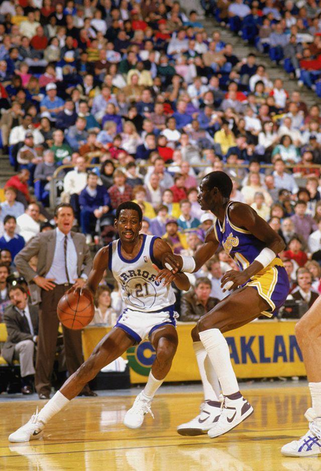 May 10, 1987 Sleepy Floyd of Golden State set NBA