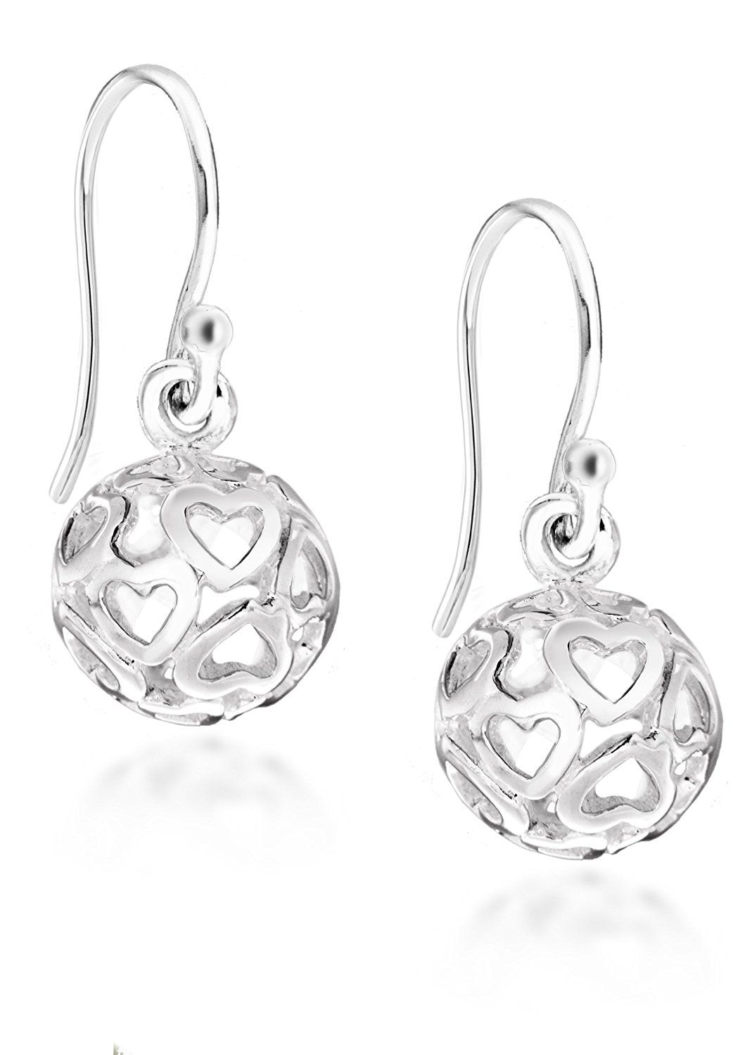 Tuscany Silver Sterling Filigree Ball Drop Earrings Read More Info By Clicking