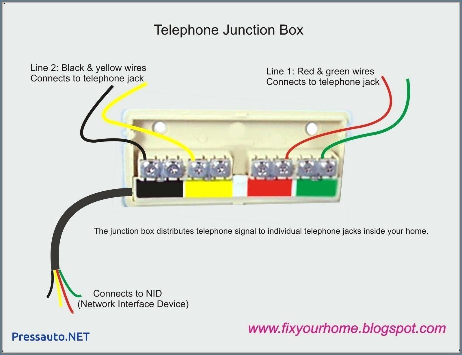Phone Jack Diagram Di 2020