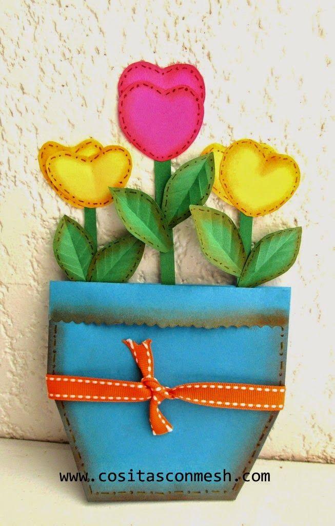 Tarjetas Hechas Por Ninos Para Mama Lodijoella Foamy Pinterest - Manualidades-hechas-por-nios