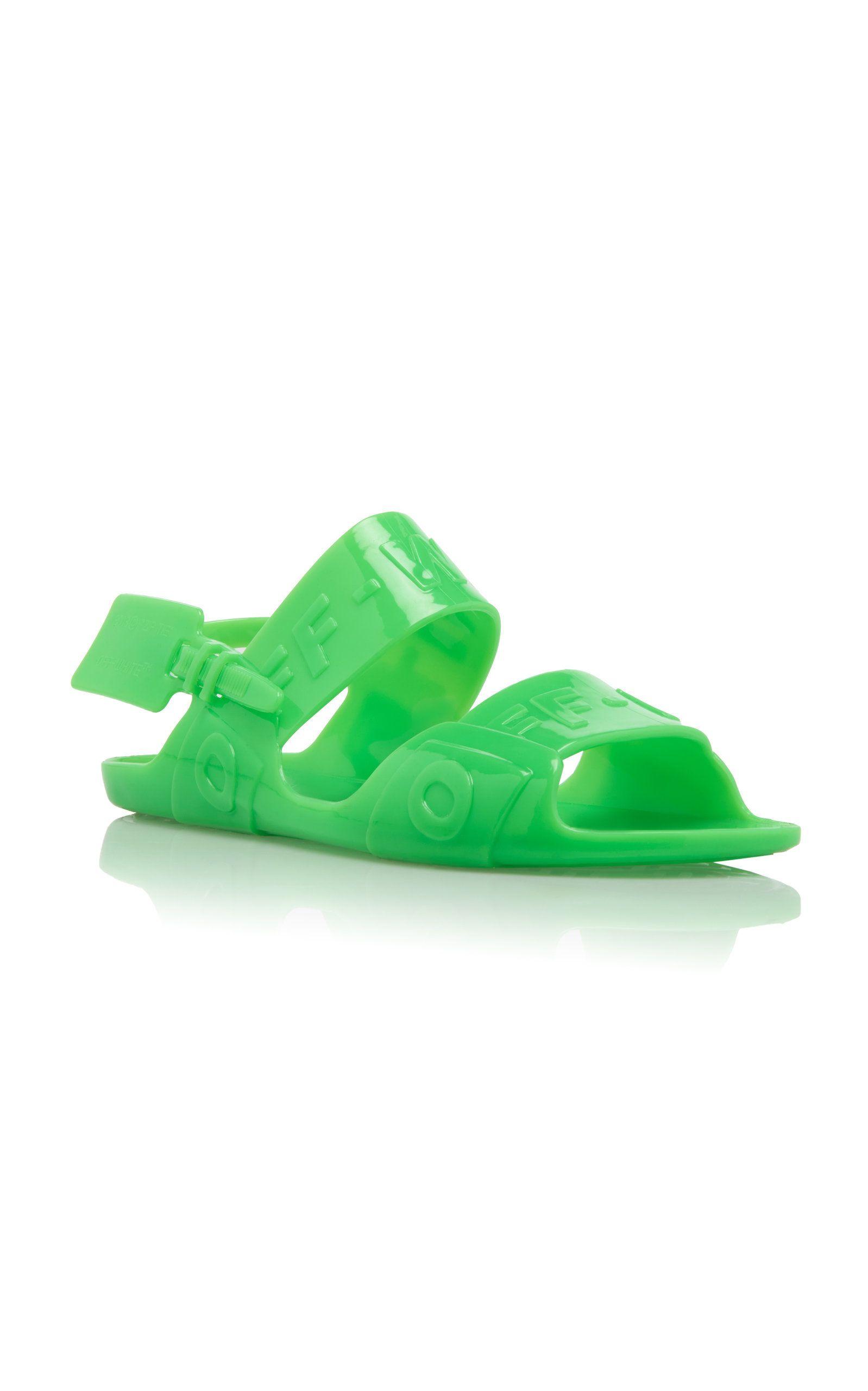 Zip-Tie Vinyl Sandals By Off-White C/o