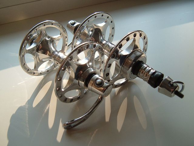 Campagnolo C-Record Hubs 'Sheriff Star'