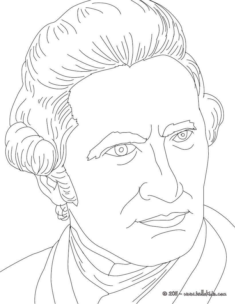 CAPTAIN JAMES COOK coloring page | History coloring sheets ...