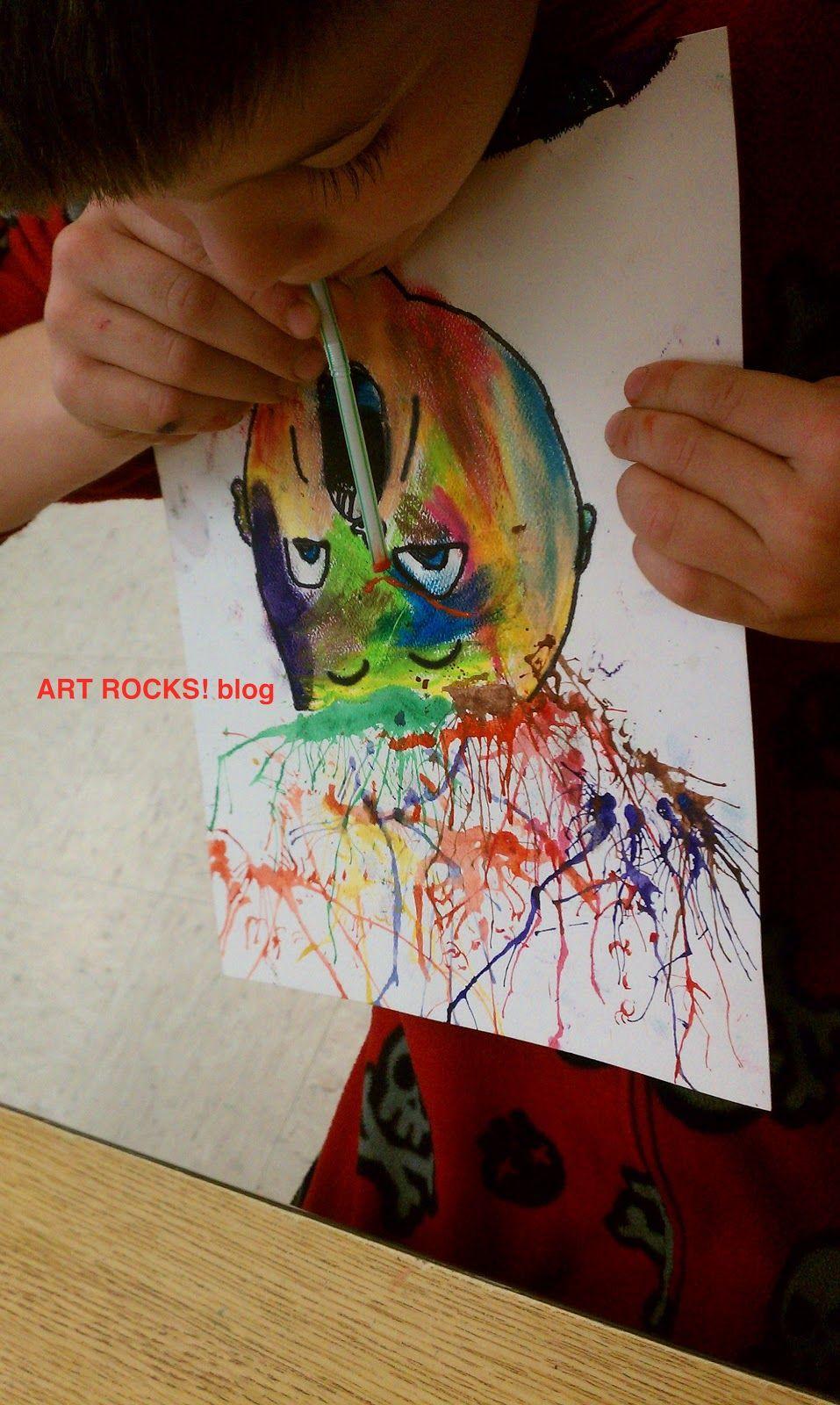 3rd Grade Monster Mama | Childrens art projects, Art ...