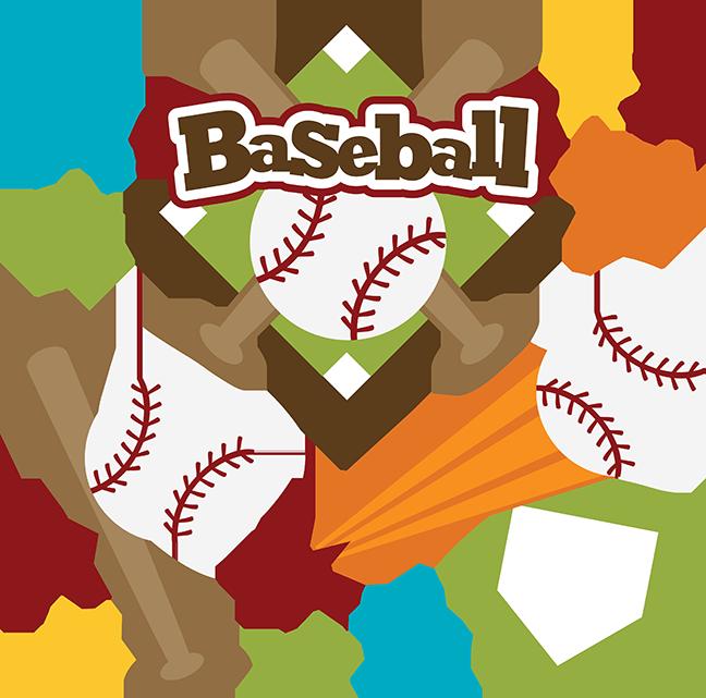 Baseball SVG scrapbook title baseball svg files sports svg