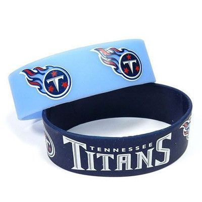 Tennessee Titans Rubber Wrist Bands