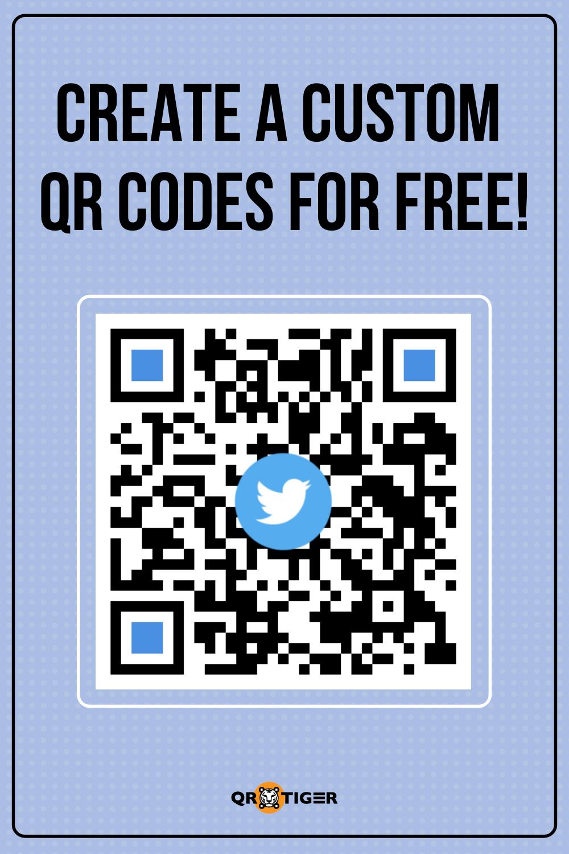 Create a QR Code with Logo Twitter QR Code Free QR
