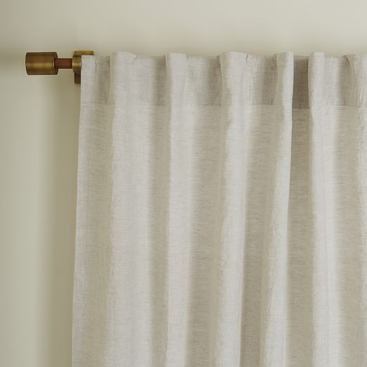 Belgian Flax Linen Curtain Natural Linen Curtains Curtains