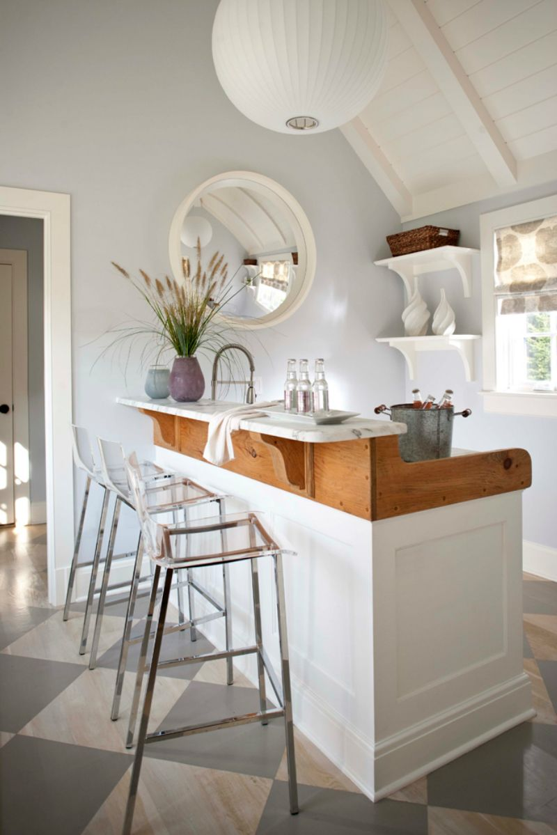 35 Chic Home Bar Designs You Need to See to Believe | Bar, Coastal ...