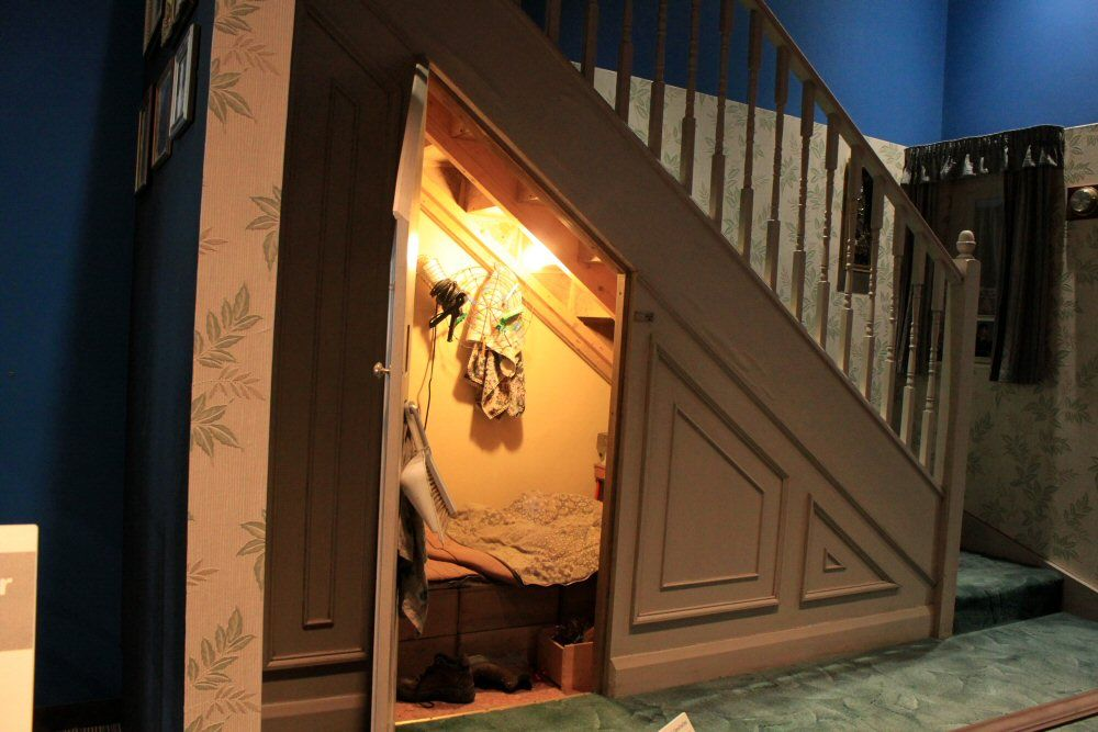 Harry's bedroom. Writer's Wanderings: Harry Potter - The Movie Set