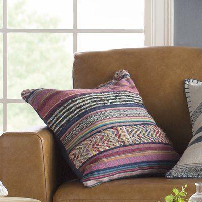 Mistana Cammi Cotton Throw Pillow Wayfair Throw Pillows Cotton Throw Pillow Pillows
