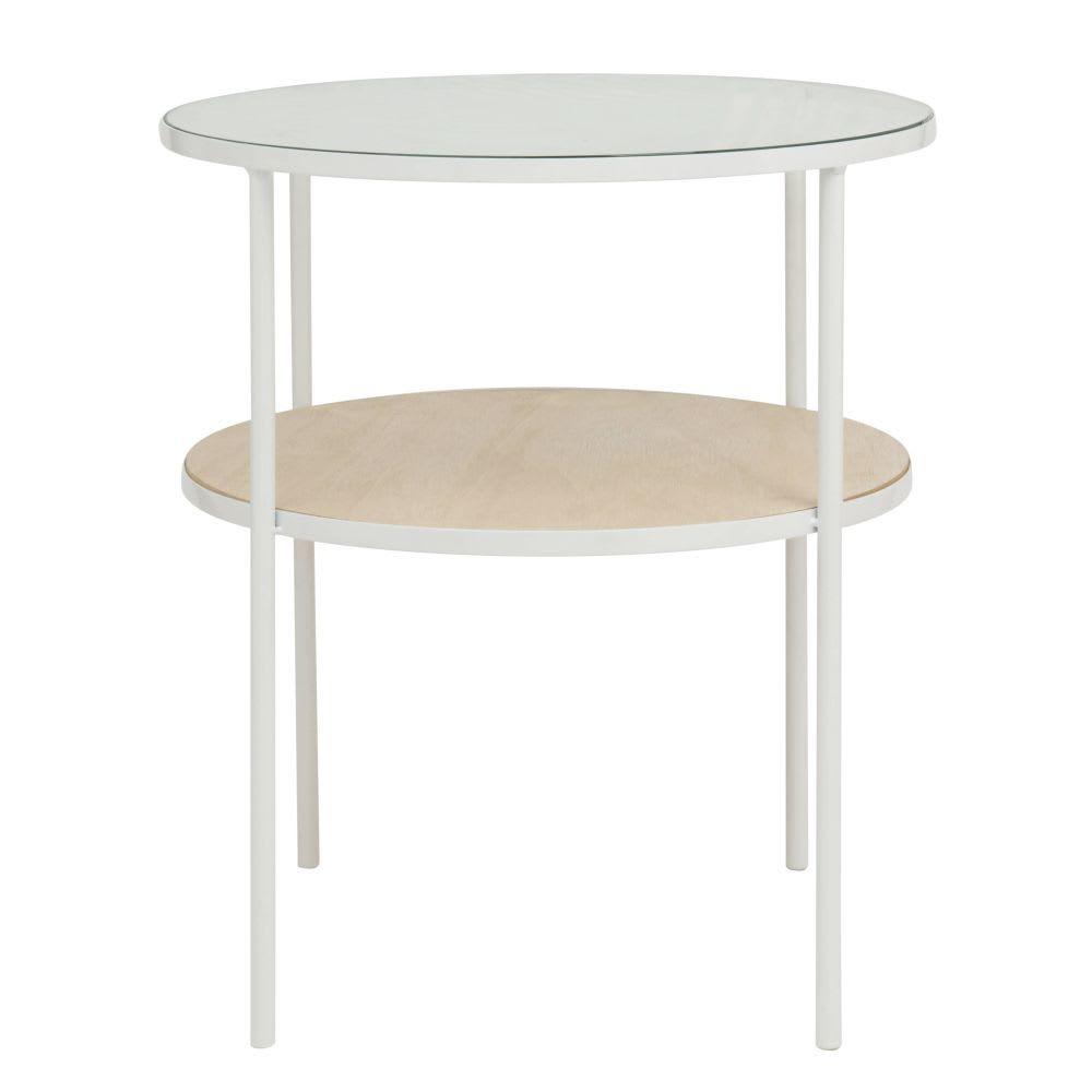 Bout De Canape En Metal Blanc Maisons Du Monde Canape En Metal Bout De Canape Table De Chevet
