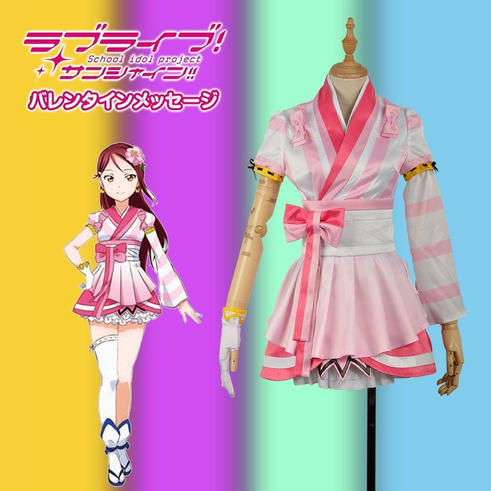 LoveLive!SunShine!! Aqours Sakurauchi Riko  Mijyuku Mijuku DREAMER Uniform Outfit Cosplay Costume  #glovesmadefromsocks