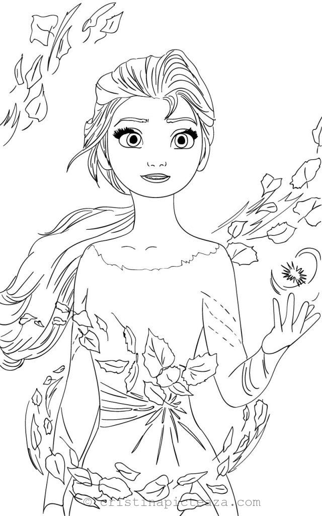 Elsa Coloring Pages Elsa From Frozen 2 Cristina Is Painting Elsa Coloring Pages Elsa Coloring Disney Coloring Pages