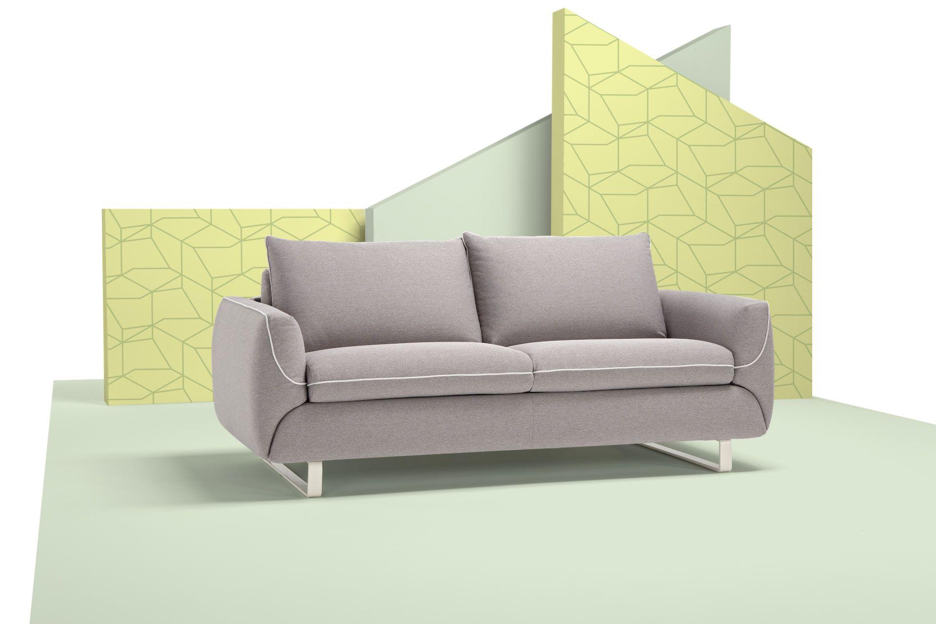 Küchen-designmöbel der alleskönner mit integrierter matratze  tagsüber bequem sitzen