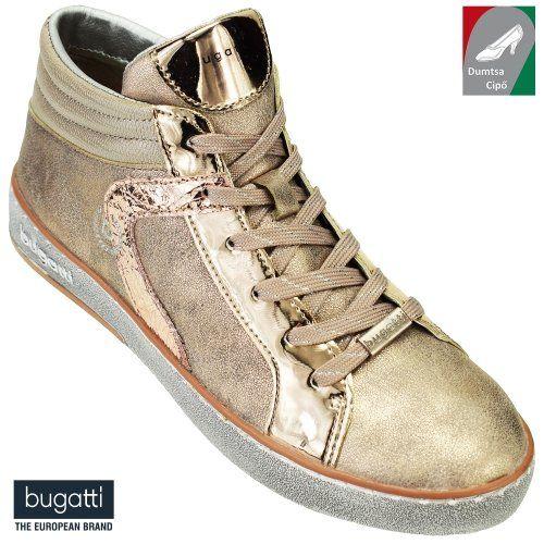 Bugatti női bokacipő 422-29130-5050-3490 rózsaszín metál  62bf059a6c