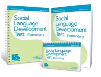 Speech Language Report Template  Social Language Development Test