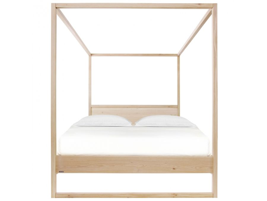 Love The Beautiful, Simple Clean Lines Of This Four Poster / Canopy Bed  With Water