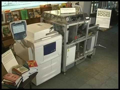 Xerox Espresso Book Machine Revolutionizes Publishing Youtube Tlac
