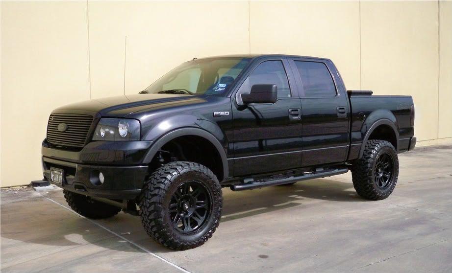 2008 F150 Hopefully Soon Only No Black Rims Trucks Ford Trucks