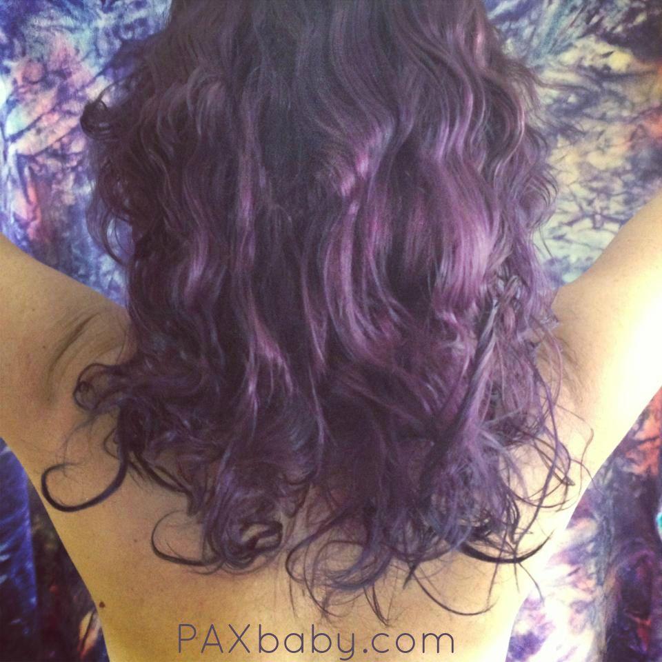 Purple mermaid hair lovely locks pinterest mermaid hair
