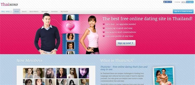 Free thai online dating sites