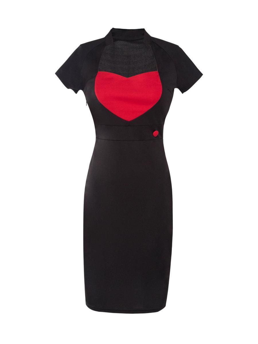 Adorewe justfashionnow fugudesigner womens black colorblock