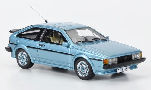 Volkswagen Scirocco Mkii Gt 16v In Tropic Blue 1 43 Scale 53 99