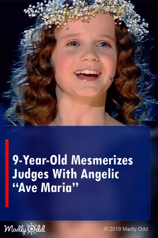 9-year-old mesmerizes judges with angelic