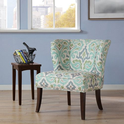 Found It At Wayfair Prescott Wingback Chair Blue Accent Chairs