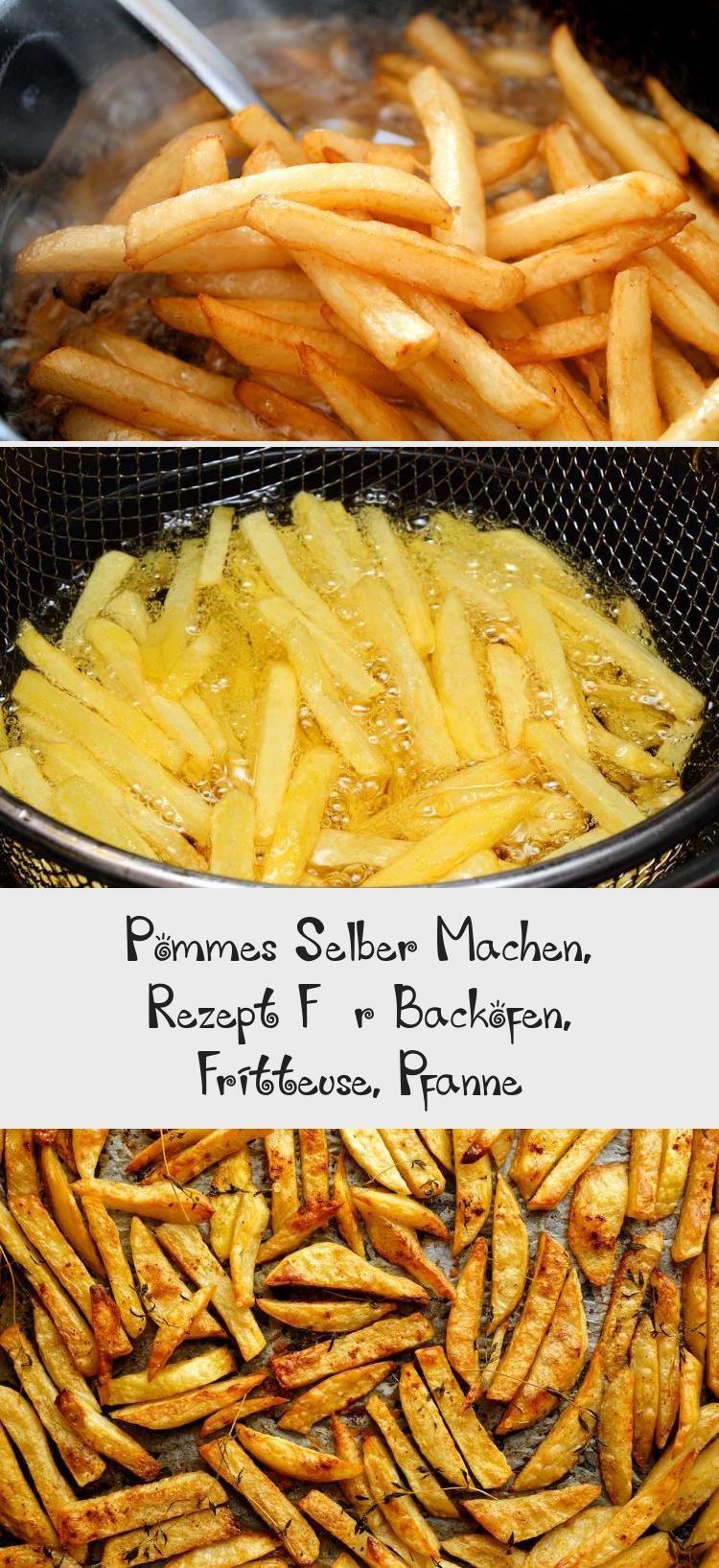 Pommes Selber Machen, Rezept Für Backofen, Fritteuse, Pfanne #pommesselbermachenofen
