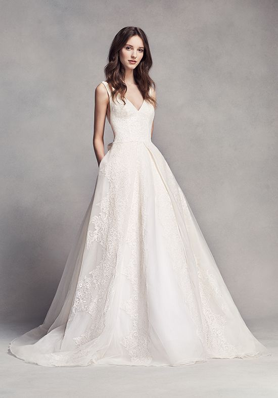White by Vera Wang White by Vera Wang Style VW351318 Ball Gown ...