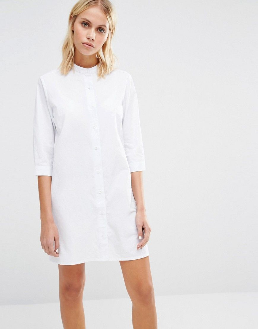 bd682ab33fe93d Image 1 of Fashion Union Button Front Shirt Dress