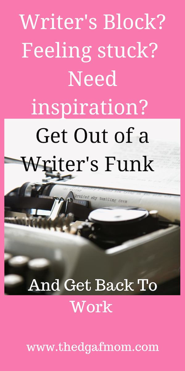 How To Get Out Of A Writer S Block