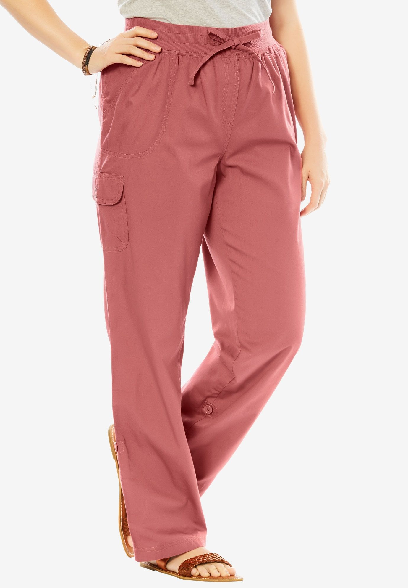 221213e29a247 Petite convertible cargo pants - Women s Plus Size Clothing. Woman Within®  Pants with Convertible Length