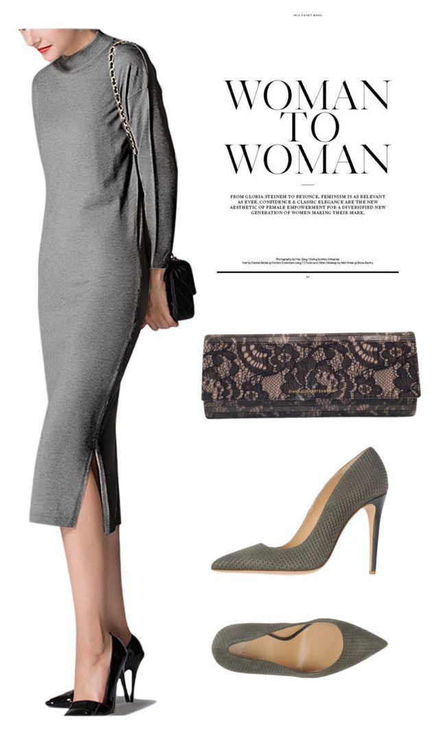 """Dress"" by masayuki4499 on Polyvore featuring Diane Von Furstenberg and Armani Collezioni"