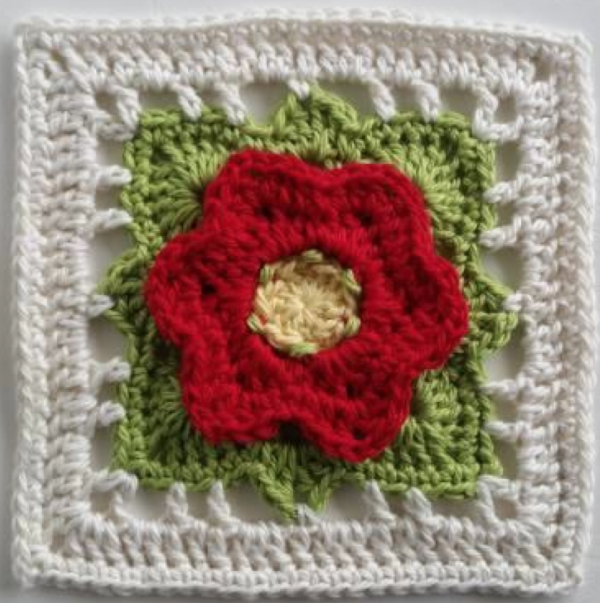 Beautiful New eBook of Crochet Flower Squares | Muestras de crochet ...