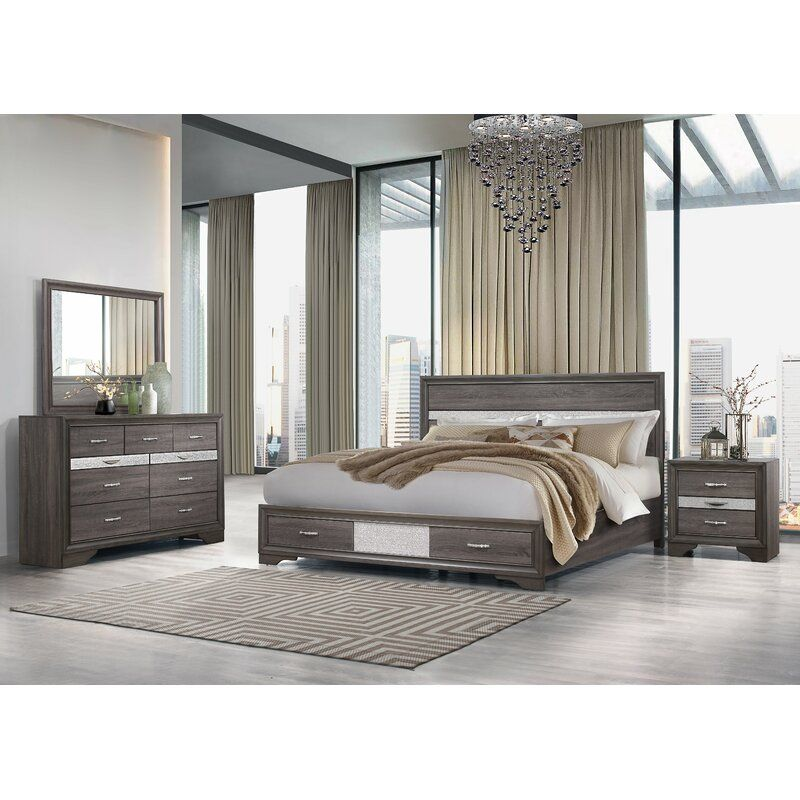 Cave Spring Standard Configurable Bedroom Set In 2020 Bedroom Set Usa Furniture Global Furniture