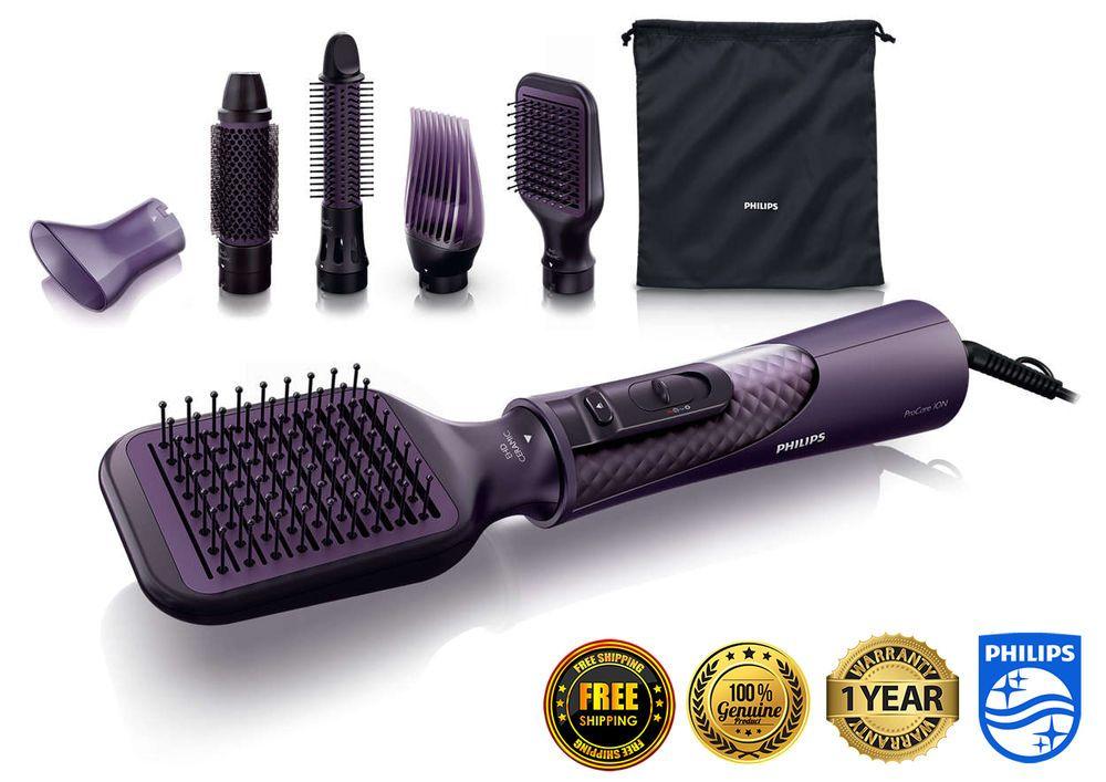 Philips Procare Airstyler Hp8656 Brushes Hair Styler Dryer Dryers 220v 1000w New Straightening Brush Hair Straightener Hair Brush Straightener