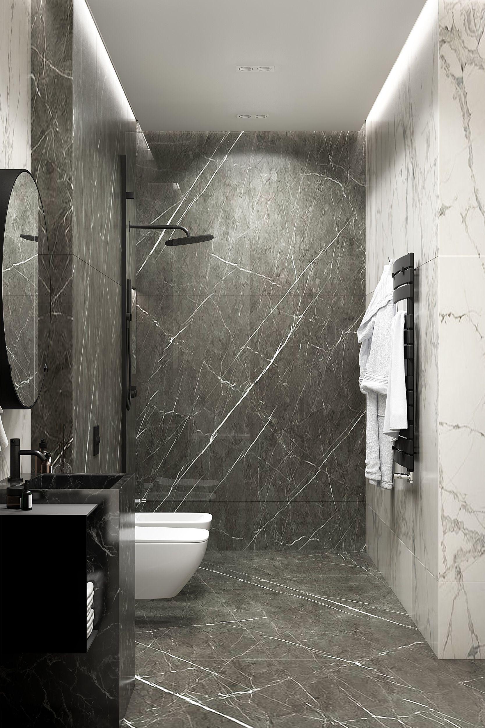 Pin By Filip Ingemarson On Bathroom Ideas Black Marble Bathroom Grey Marble Bathroom Marble Bathroom Designs