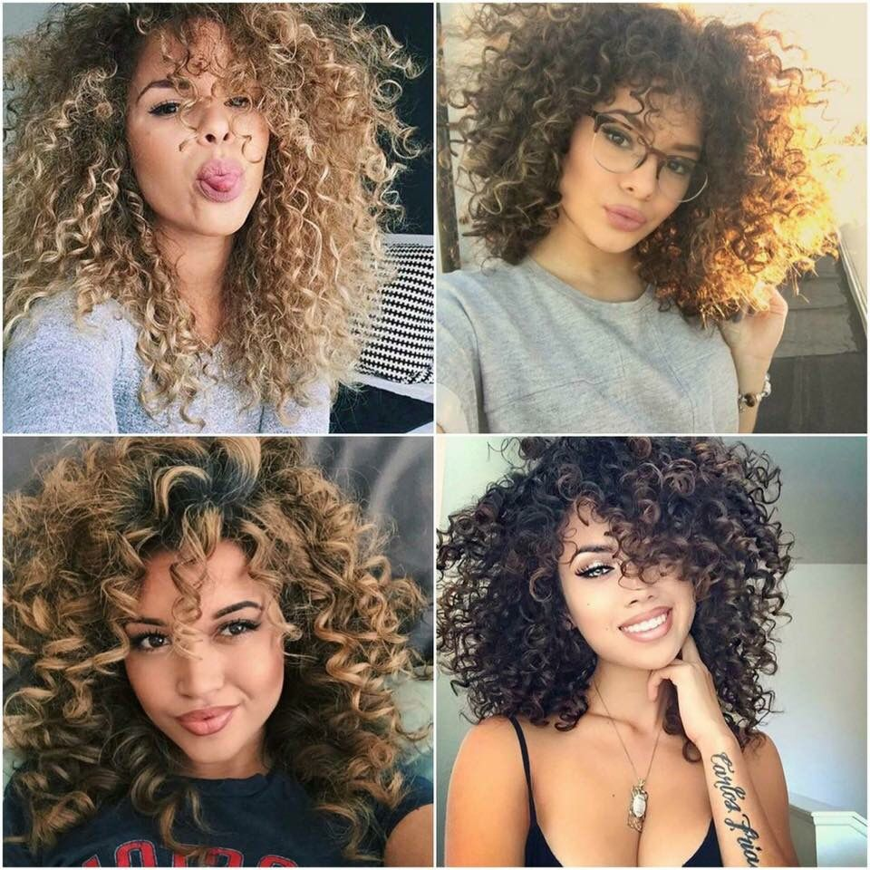 Curly hair girls hair inspiration pinterest curly hair styles