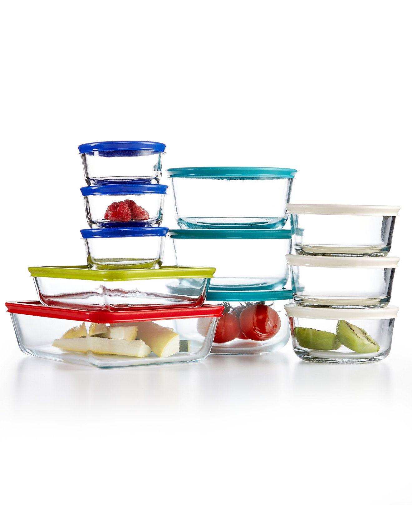 Pyrex 22 Piece Food Storage Container Set, Created for