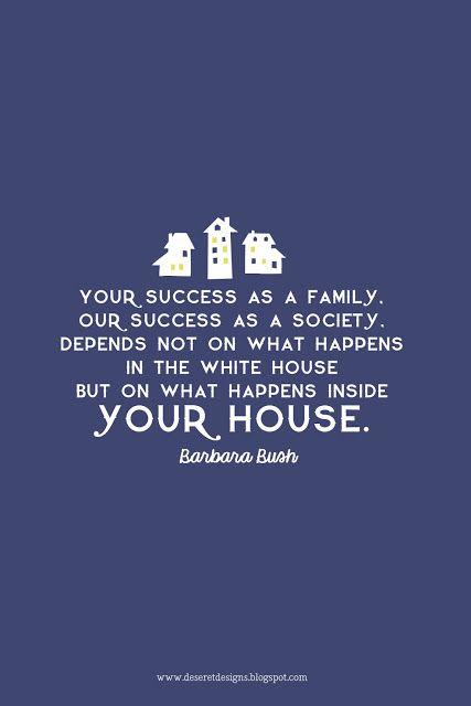 Deseret Designs: Success as a family...